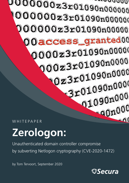 image from Zerologon: Unauthenticated Domain Controller Compromise by Subverting Netlogon Cryptography (CVE-2020-1472)