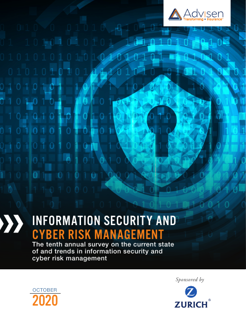 image from Information Security and Cyber Risk Management Report 2020
