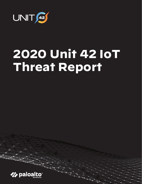 image from 2020 Unit 42 IoT Threat Report