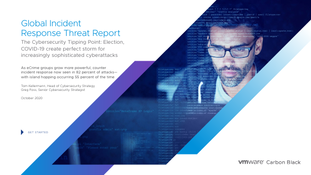 image from Global Incident Response Threat Report 2020