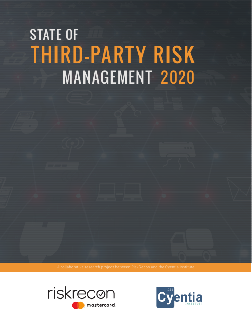 image from State of Third-Party Risk Management 2020