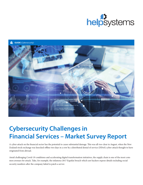 image from Cybersecurity Challenges in Financial Services - Marker Survey Report