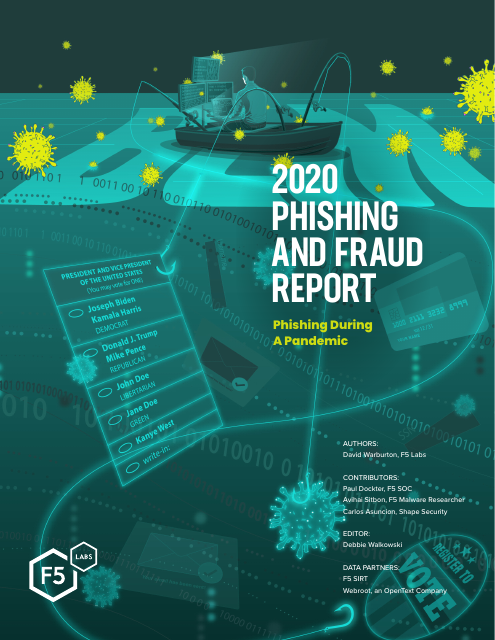 image from 2020 Phishing and Fraud Report