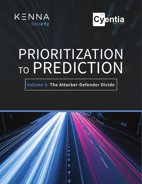 image from Prioritization to Prediction: Volume 6 - The Attacker-Defender Divide