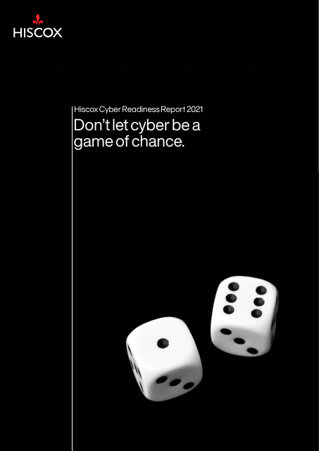 image from Hiscox Cyber Readiness Report 2021