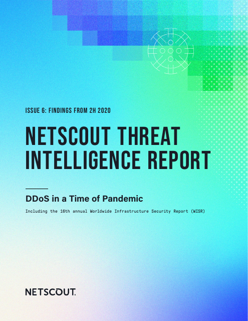 image from Netscout Threat Intelligence Report: 2H 2020