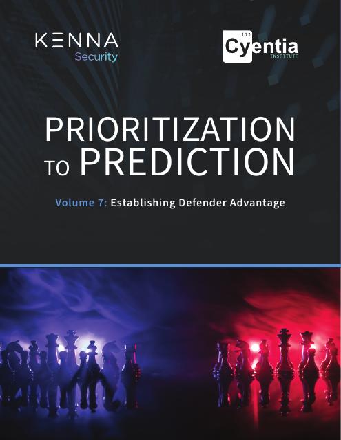 image from Prioritization to Prediction Volume 7: Establishing Defender Advantage