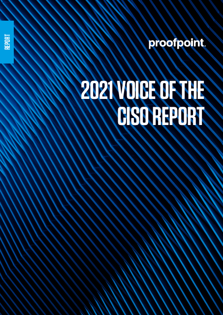 image from 2021 Voice of the CISO Report