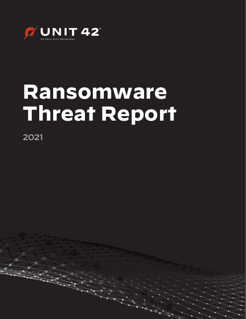 image from Ransomware Threat Report 2021